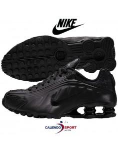 NIKE SHOX R4 BQ4000-001 BOYS BLACK