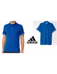 Polo blue tennis Man Adidas sport Climachill AJ9250 CASUAL SPORT PALETSRA