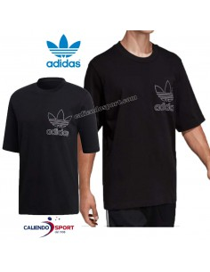 T-SHIRT ADIDAS DV1563 BLACK ORIGINALS COTTON