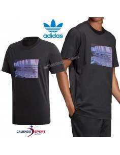 T-SHIRT ADIDAS DV2015 ORIGINALS BLACK COTTON