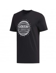 T-SHIRT ADIDAS FM6067 FM6063 BLACK GREY COTTON