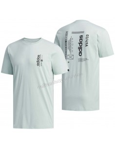 T-SHIRT ADIDAS FM6085 FM6084 FM6086 COTTON ROUND NECK
