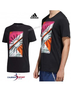 T-SHIRT ADIDAS FM6263 BLACK CREATOR CULTURES COTTON