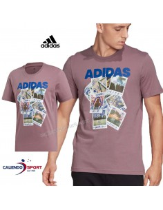 T-SHIRT ADIDAS FN1718 COTTON ROUND NECK