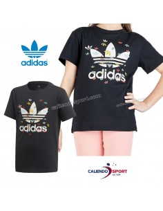 T-SHIRT ADIDAS GIRLS FM4895 BLACK ORIGINALS SPORT