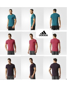 Man Training T-shirt Adidas Climachill Sports Running Gym