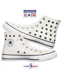 WOMEN'S CONVERSE SHOE 569714C ALL STAR WHITE LEATHER