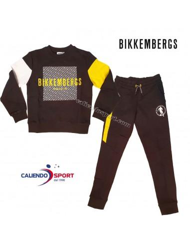 TRACKSUIT FOR BOYS BIKKEMBERGS BK0020...