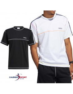 T-SHIRT ADIDAS GN3885 GN3886 CONTRAST STITCH TEE