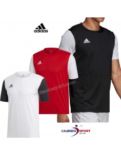 T-SHIRT ADIDAS ESTRO DP3230 DP3233 DP3234 RED WHITE BLACK