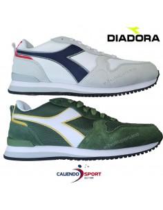 SHOE DIADORA OLIMPIA 174376 C0351-WHITE 80013 BLACK