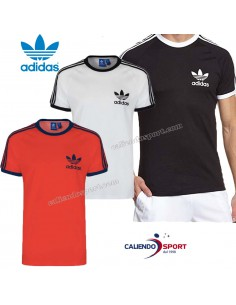 T-SHIRT ADIDAS ORIGINALS S18427 S18420 S18423 RED WHITE BLACK